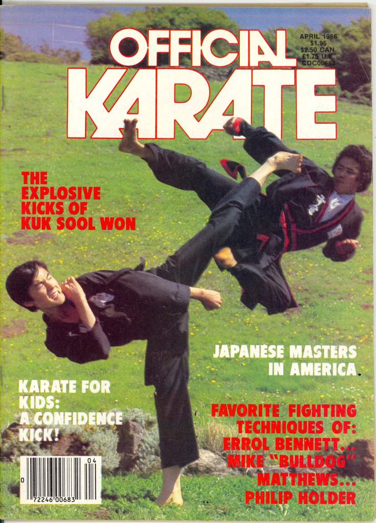 04/86 Official Karate