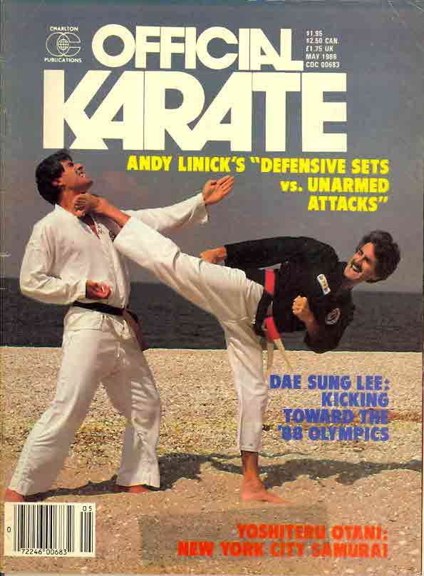05/86 Official Karate