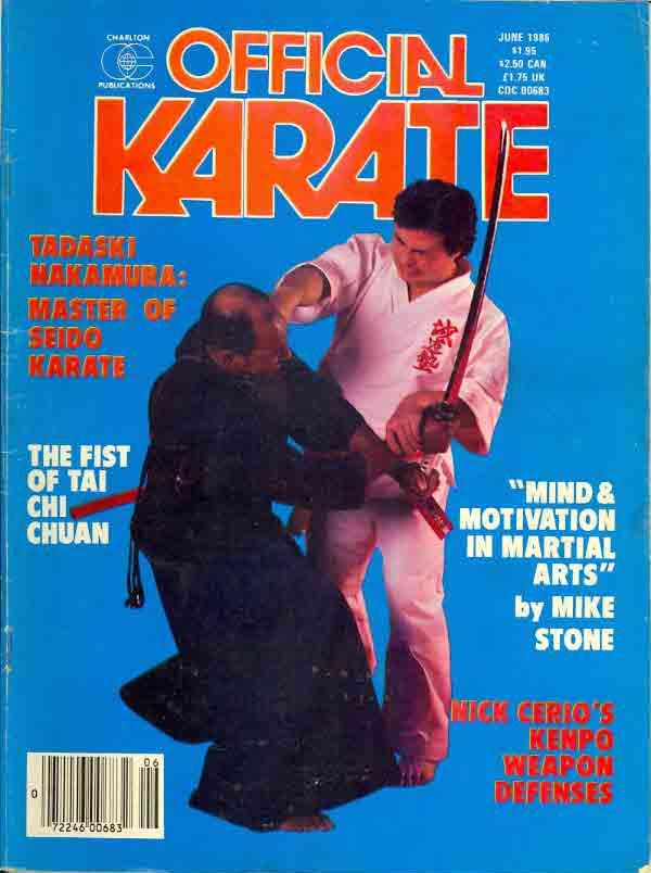 06/86 Official Karate