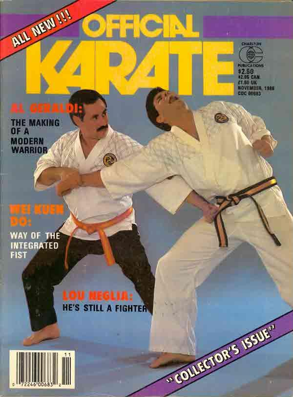 11/86 Official Karate