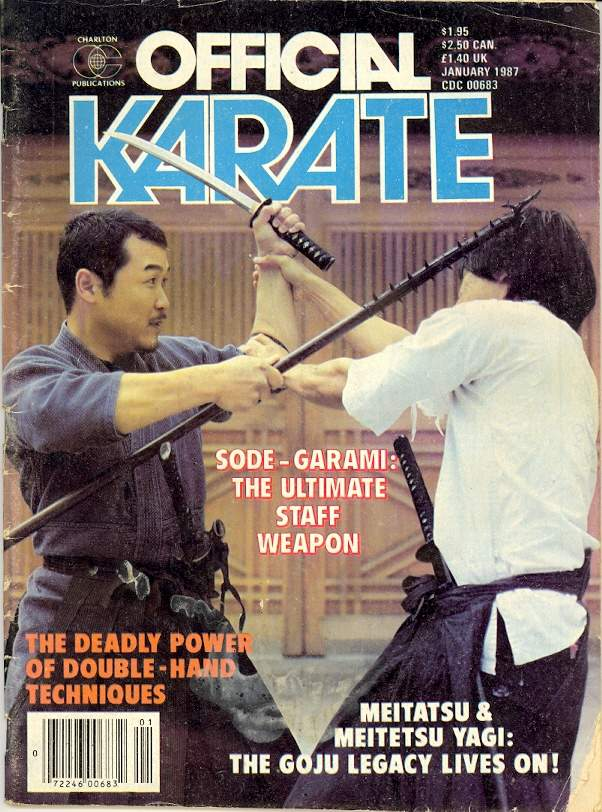 01/87 Official Karate
