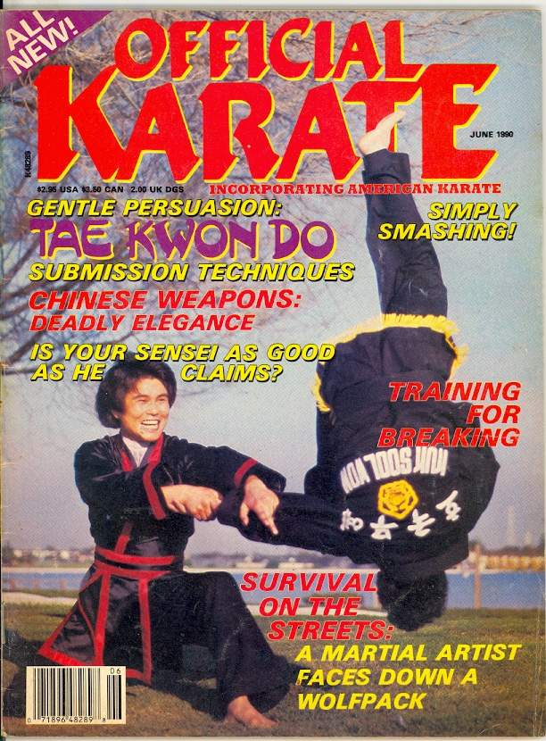 06/90 Official Karate