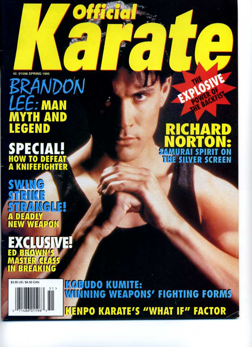 Spring 1995 Official Karate