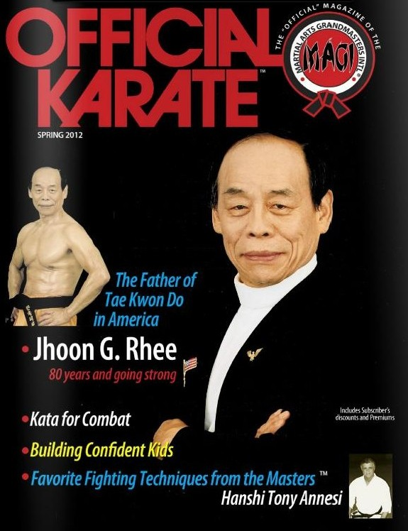 Spring 2012 Official Karate