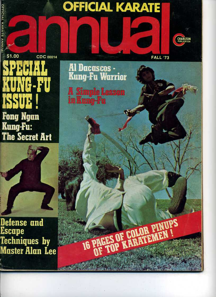 Fall 1973 Official Karate Annual