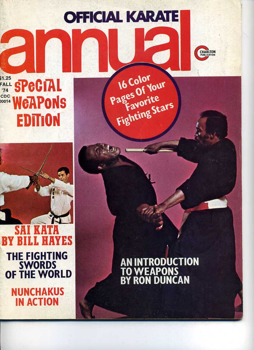 Fall 1974 Official Karate Annual