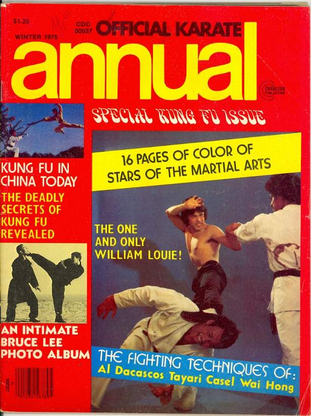 Winter 1975 Official Karate Annual