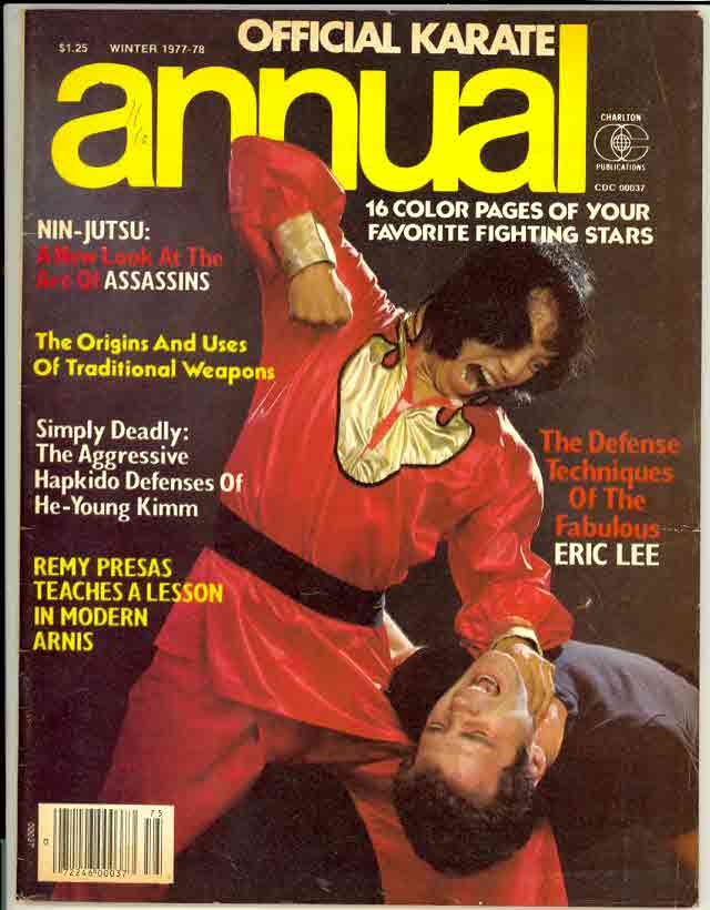 Winter 1977 Official Karate Annual