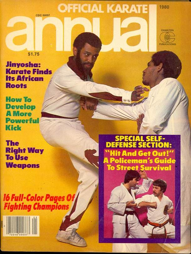Spring 1980 Official Karate Annual