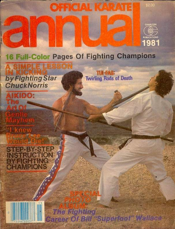Winter 1981 Official Karate Annual