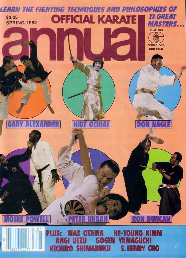 Spring 1982 Official Karate Annual