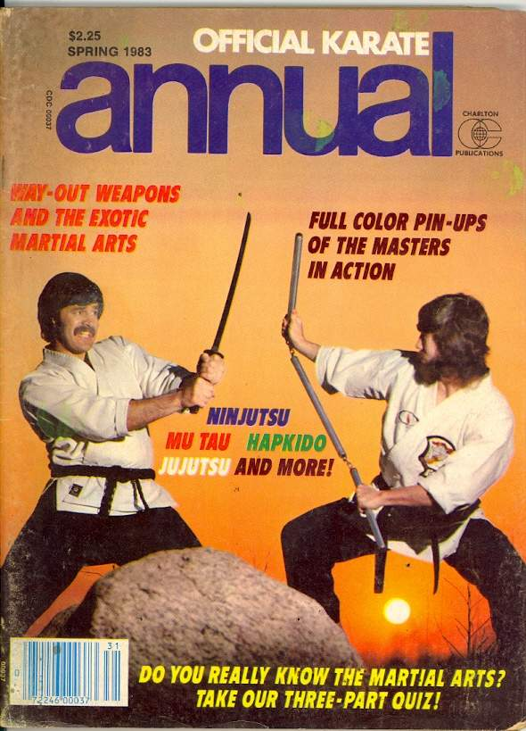 Spring 1983 Official Karate Annual