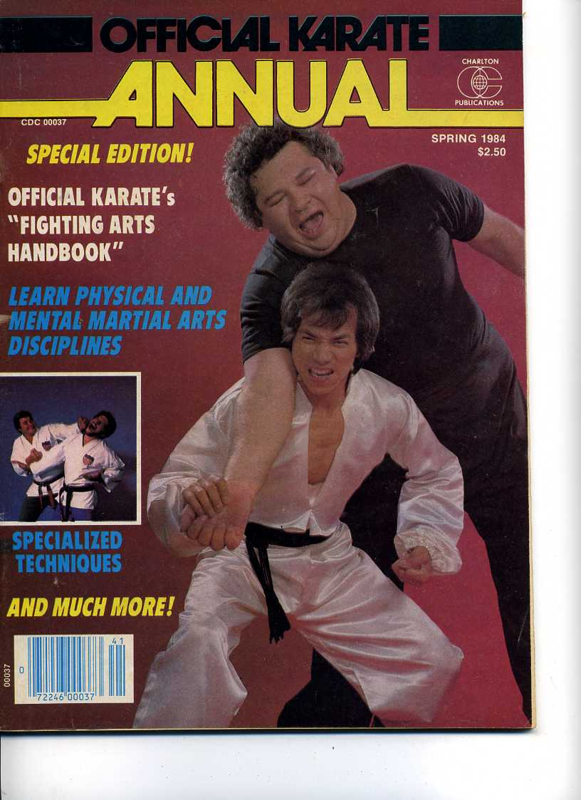 Spring 1984 Official Karate Annual