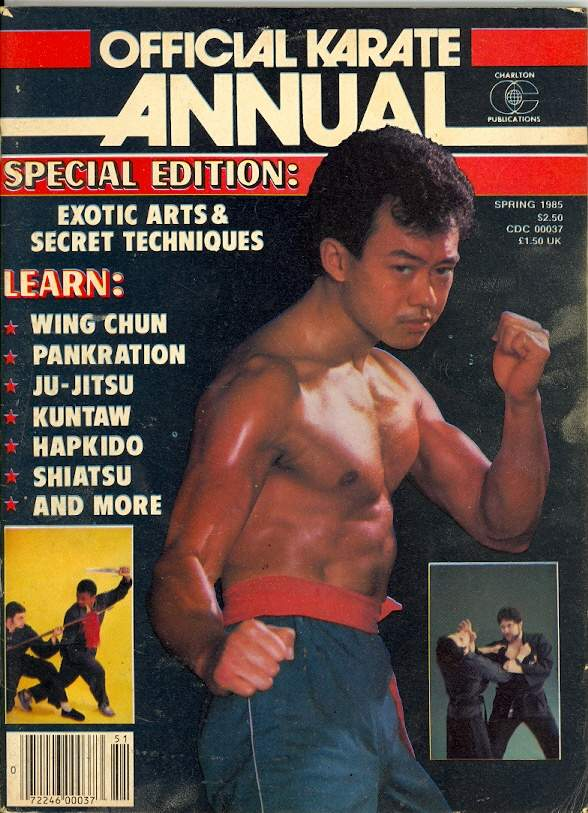 Spring 1985 Official Karate Annual