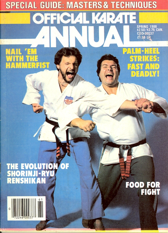 Spring 1986 Official Karate Annual