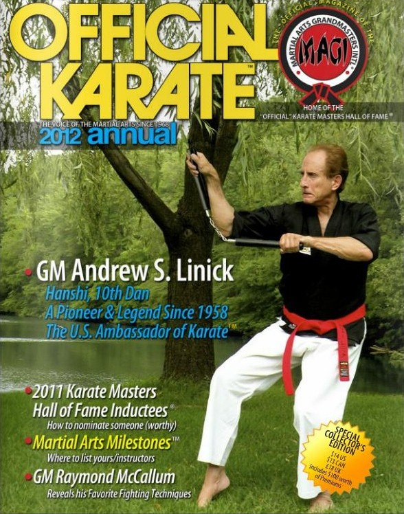 2012 Official Karate Annual