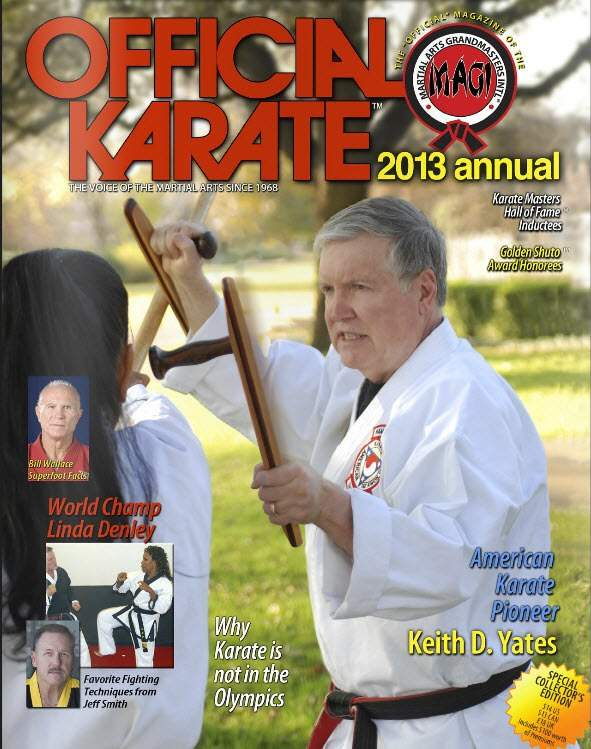 2013 Official Karate Annual
