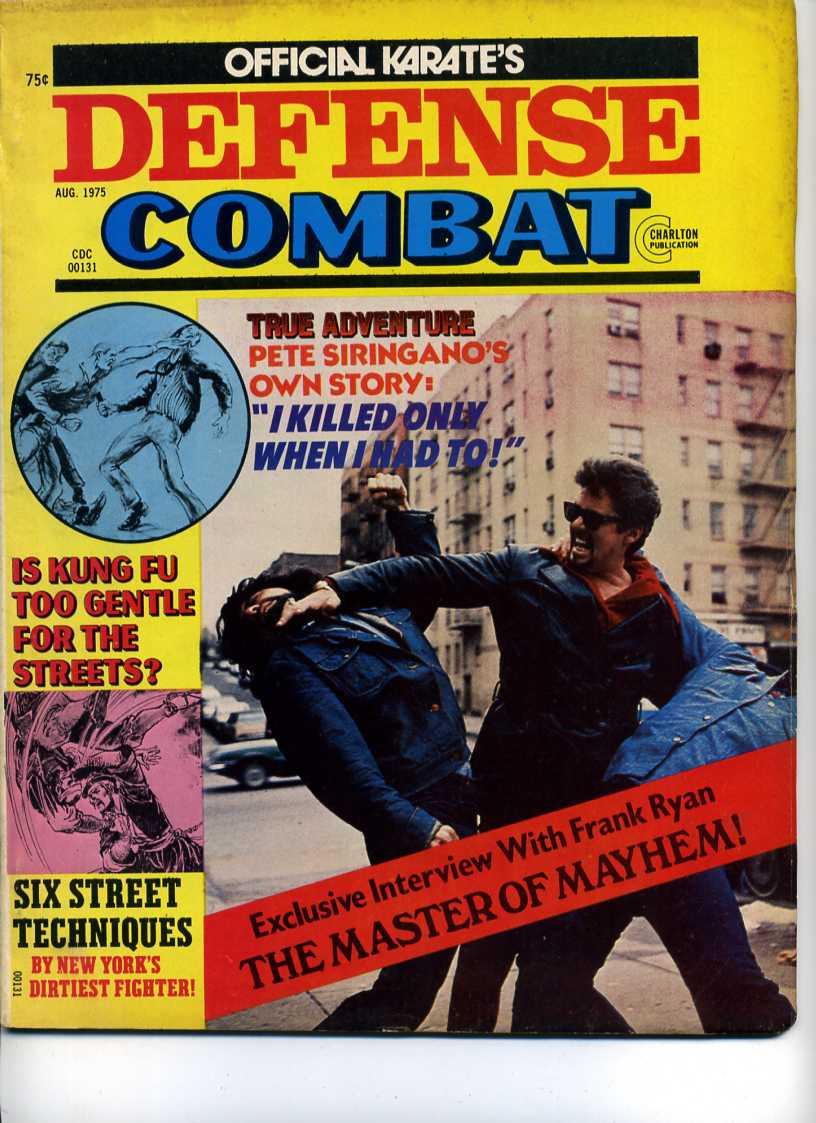 08/75 Official Karate Defense Combat