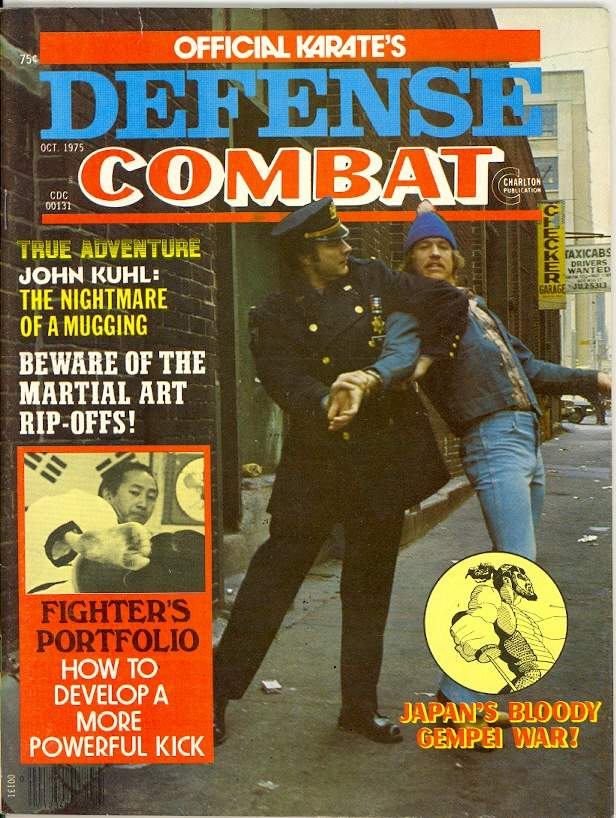 10/75 Official Karate Defense Combat
