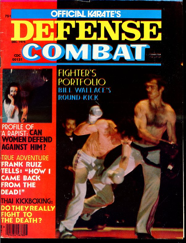 12/75 Official Karate Defense Combat