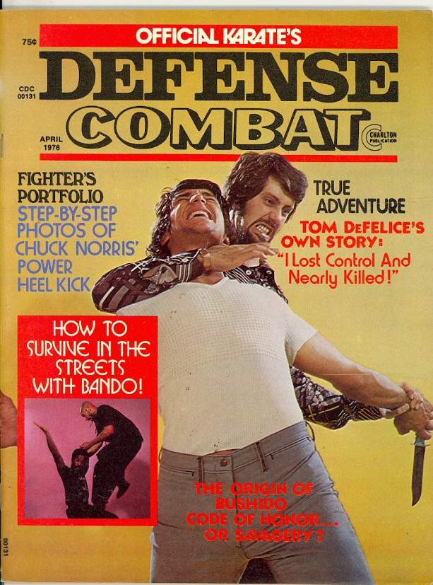 04/76 Official Karate Defense Combat
