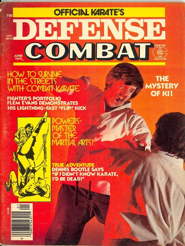 06/76 Official Karate Defense Combat