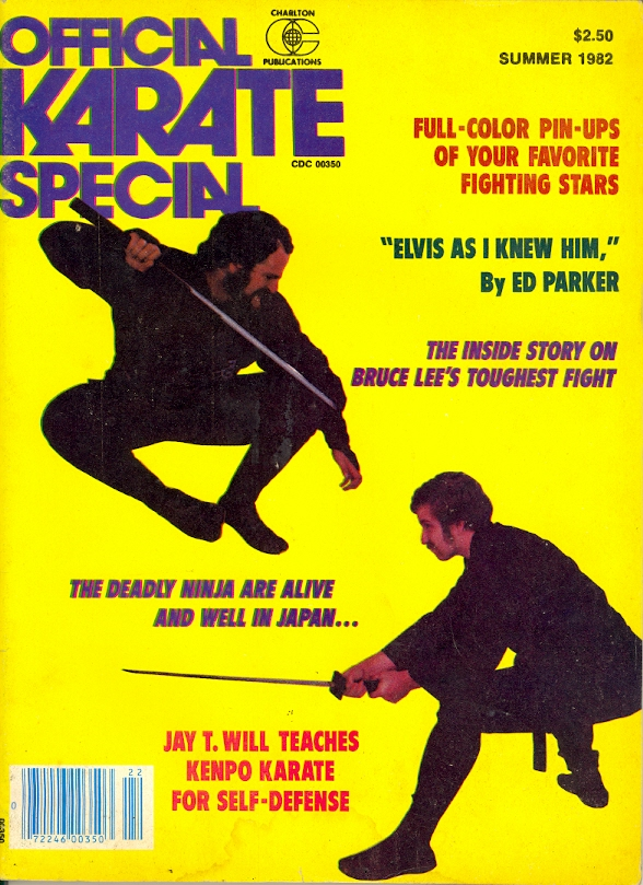 Summer 1982 Official Karate Special