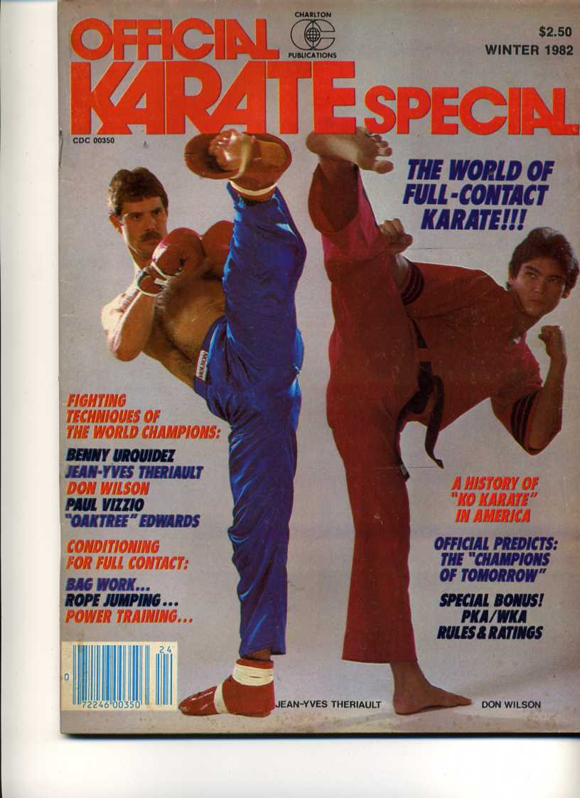 Winter 1982 Official Karate Special