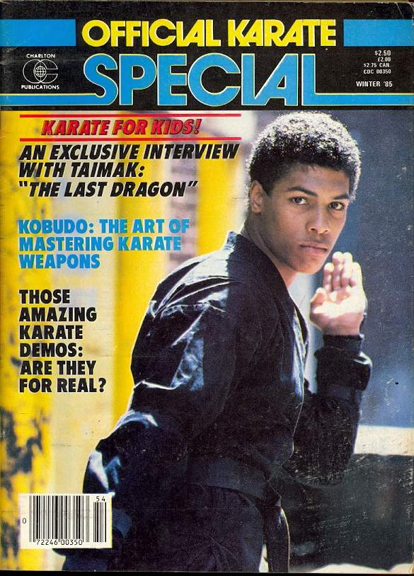 Winter 1985 Official Karate Special