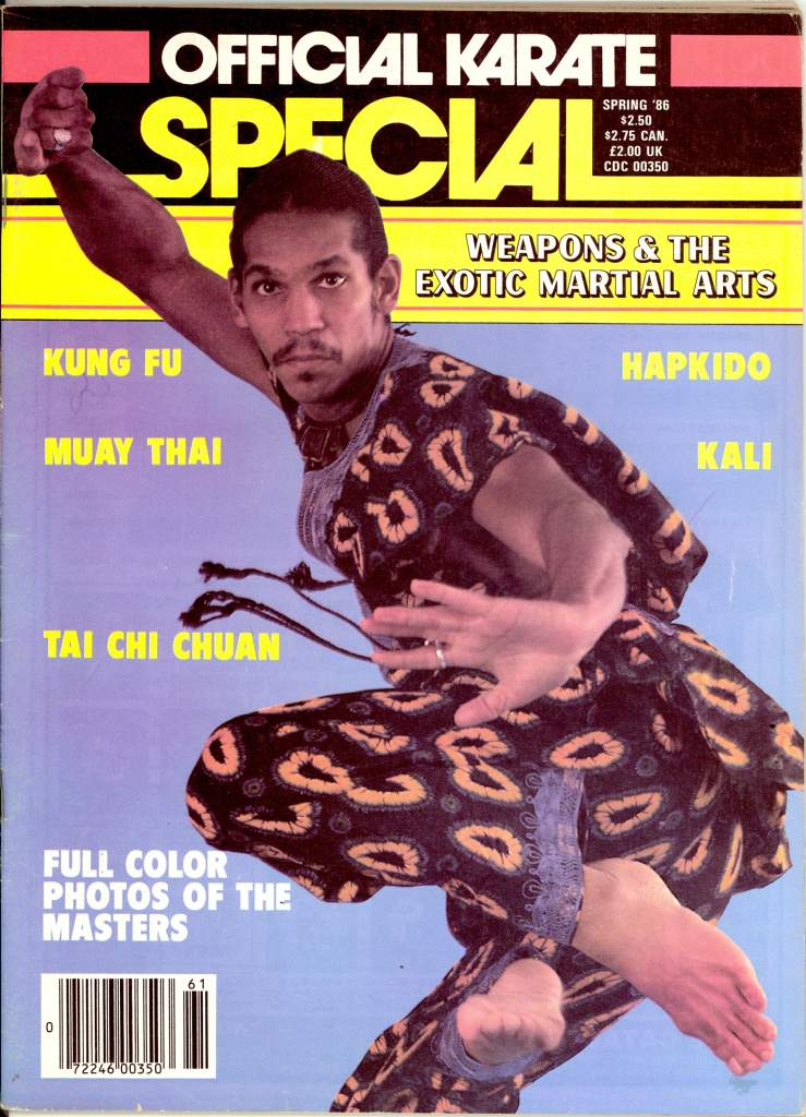 Spring 1986 Official Karate Special