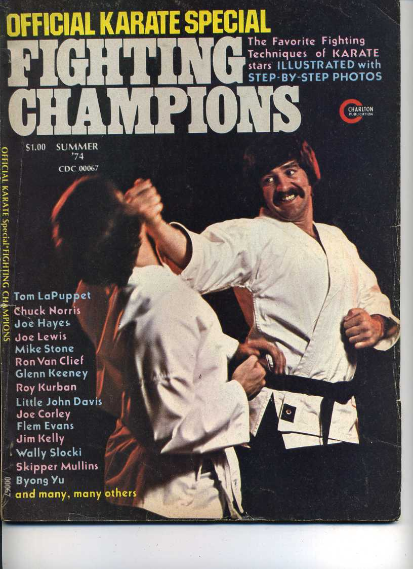 Summer 1974 Official Karate Special Fighting Champions