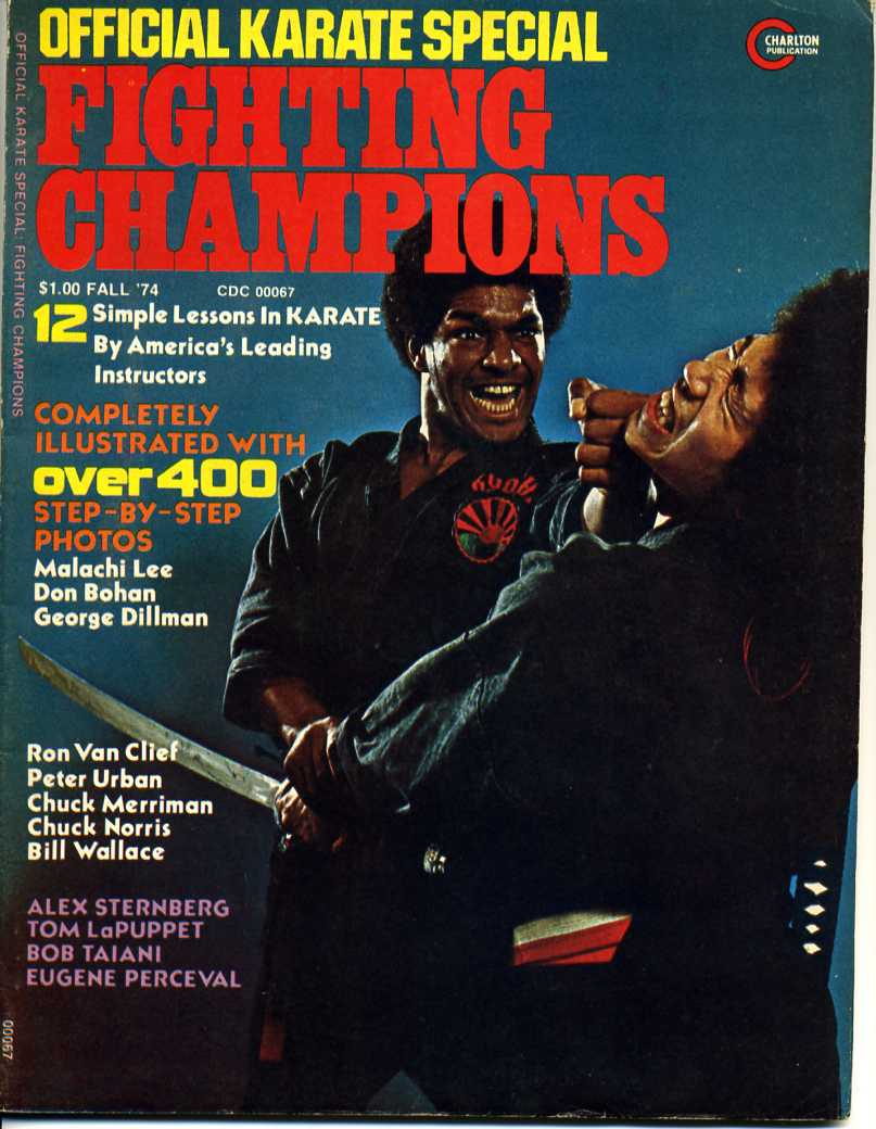 Fall 1974 Official Karate Special Fighting Champions