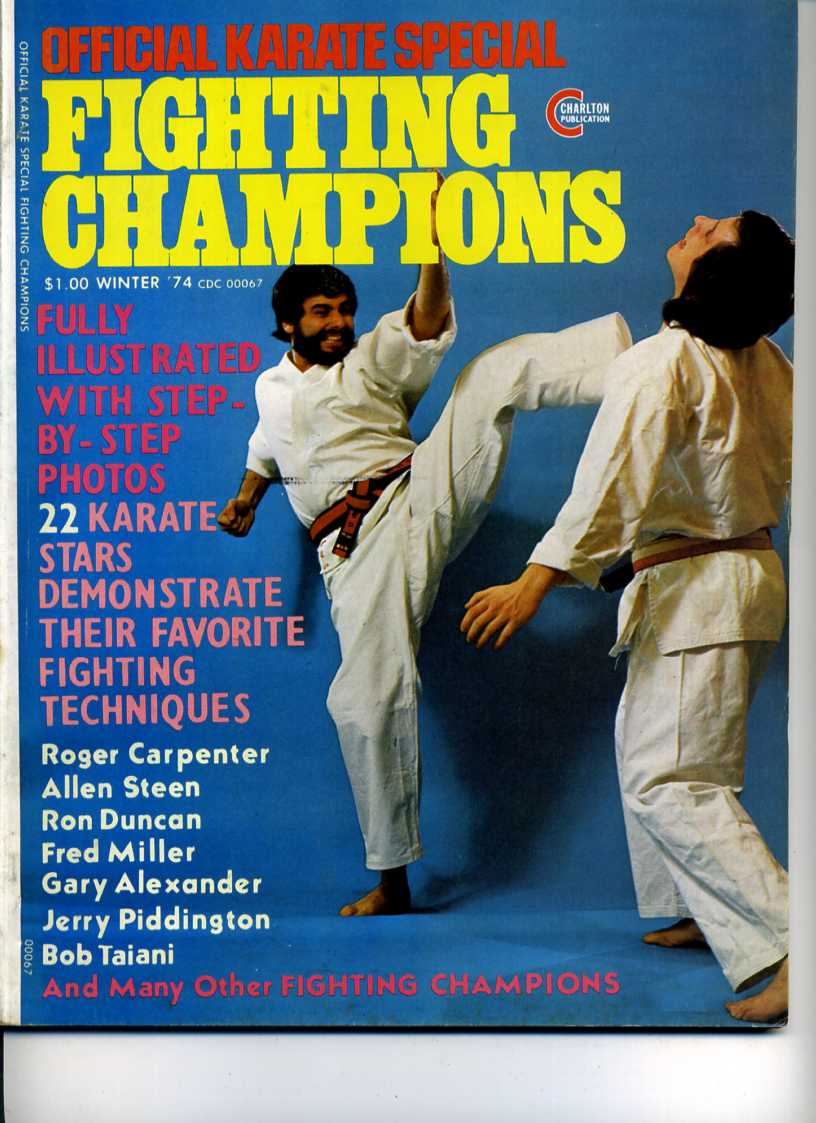 Winter 1974 Official Karate Special Fighting Champions