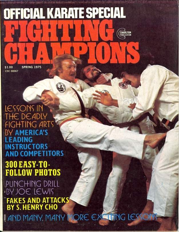 Spring 1975 Official Karate Special Fighting Champions