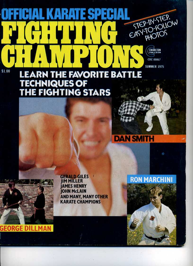 Summer 1975 Official Karate Special Fighting Champions