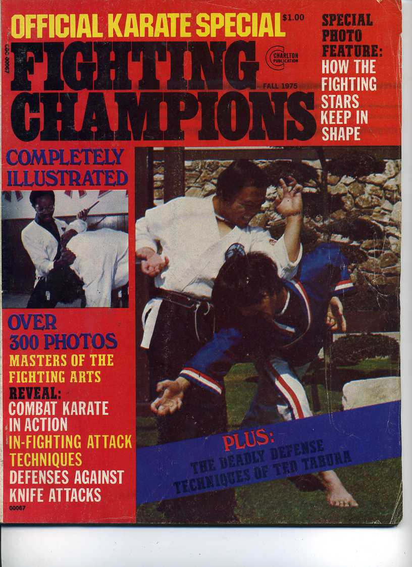 Fall 1975 Official Karate Special Fighting Champions