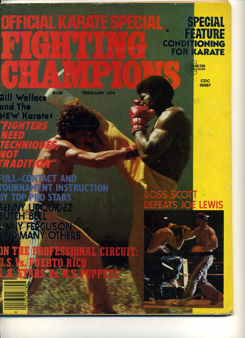 02/76 Official Karate Special Fighting Champions