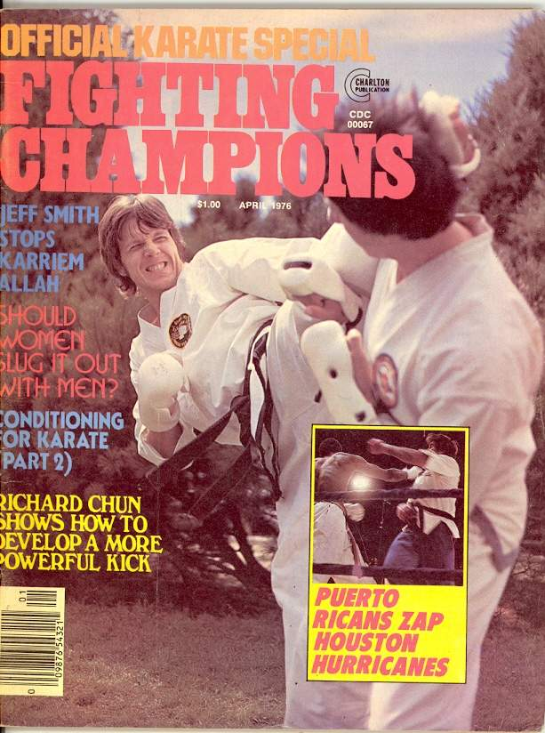 04/76 Official Karate Special Fighting Champions
