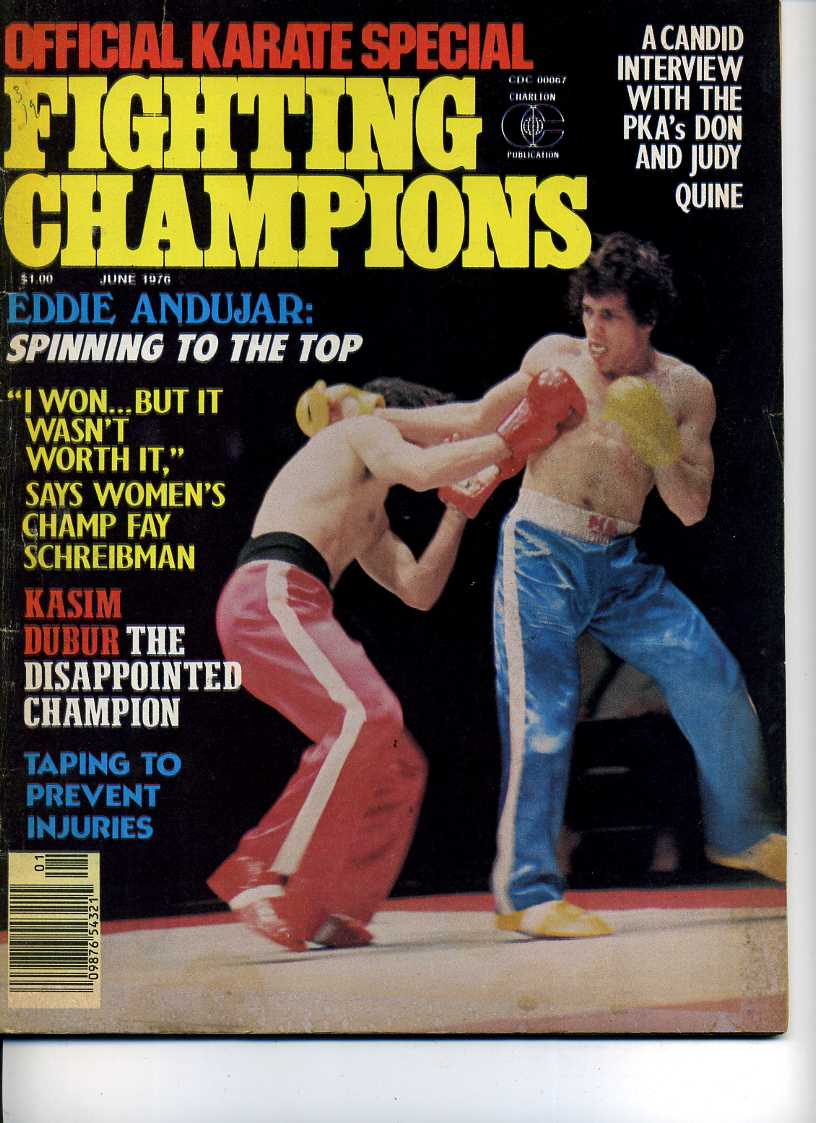06/76 Official Karate Special Fighting Champions