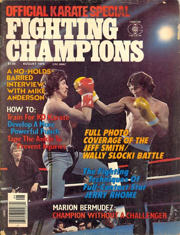 08/76 Official Karate Special Fighting Champions