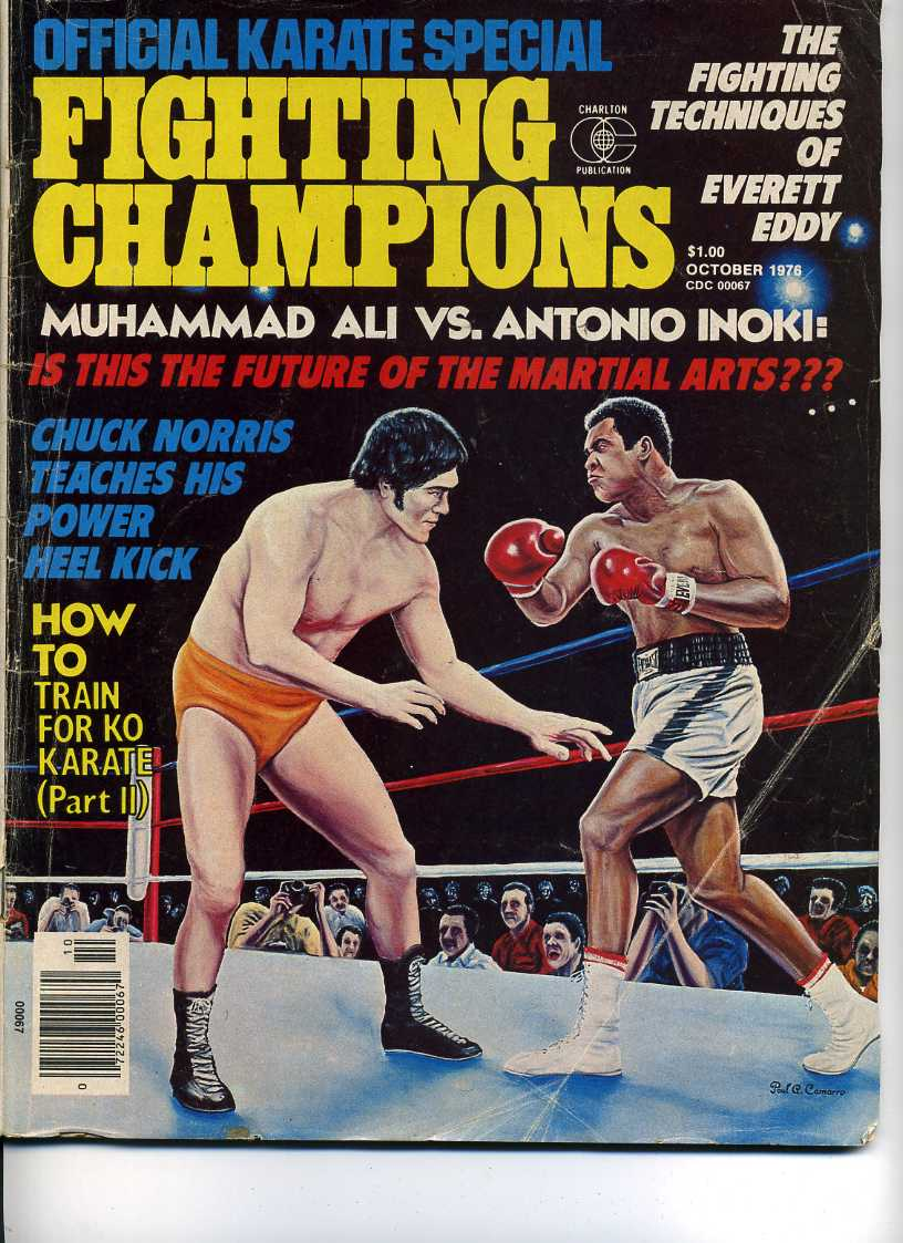 10/76 Official Karate Special Fighting Champions