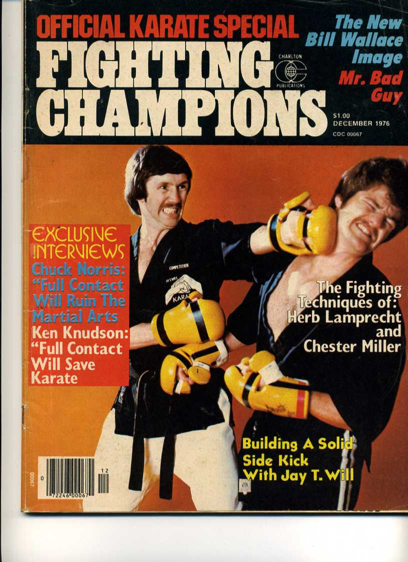 12/76 Official Karate Special Fighting Champions