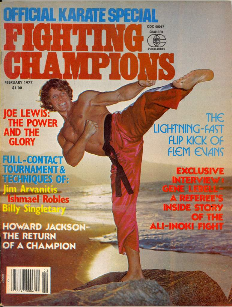 02/77 Official Karate Special Fighting Champions