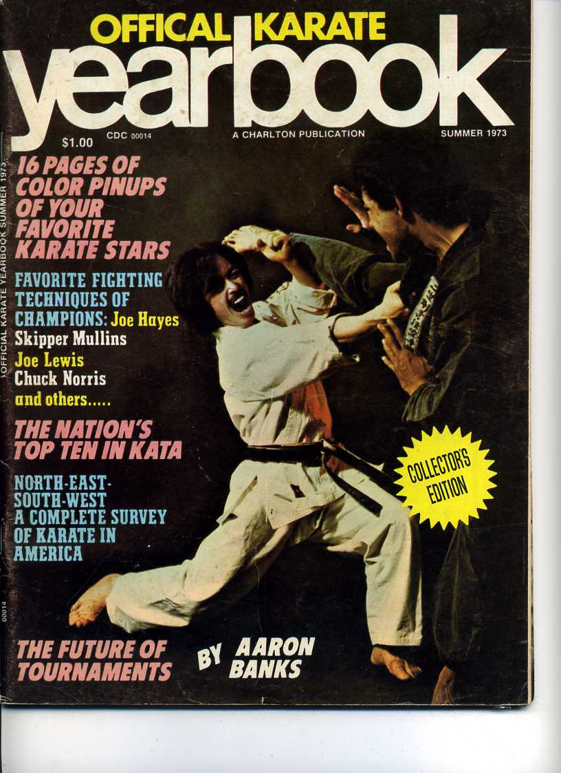Summer 1973 Official Karate Yearbook