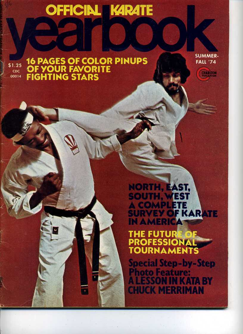 Summer 1974 Official Karate Yearbook