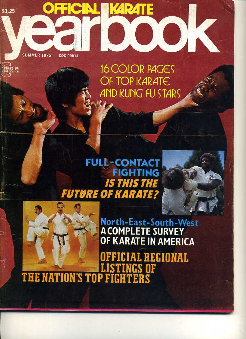 Summer 1975 Official Karate Yearbook