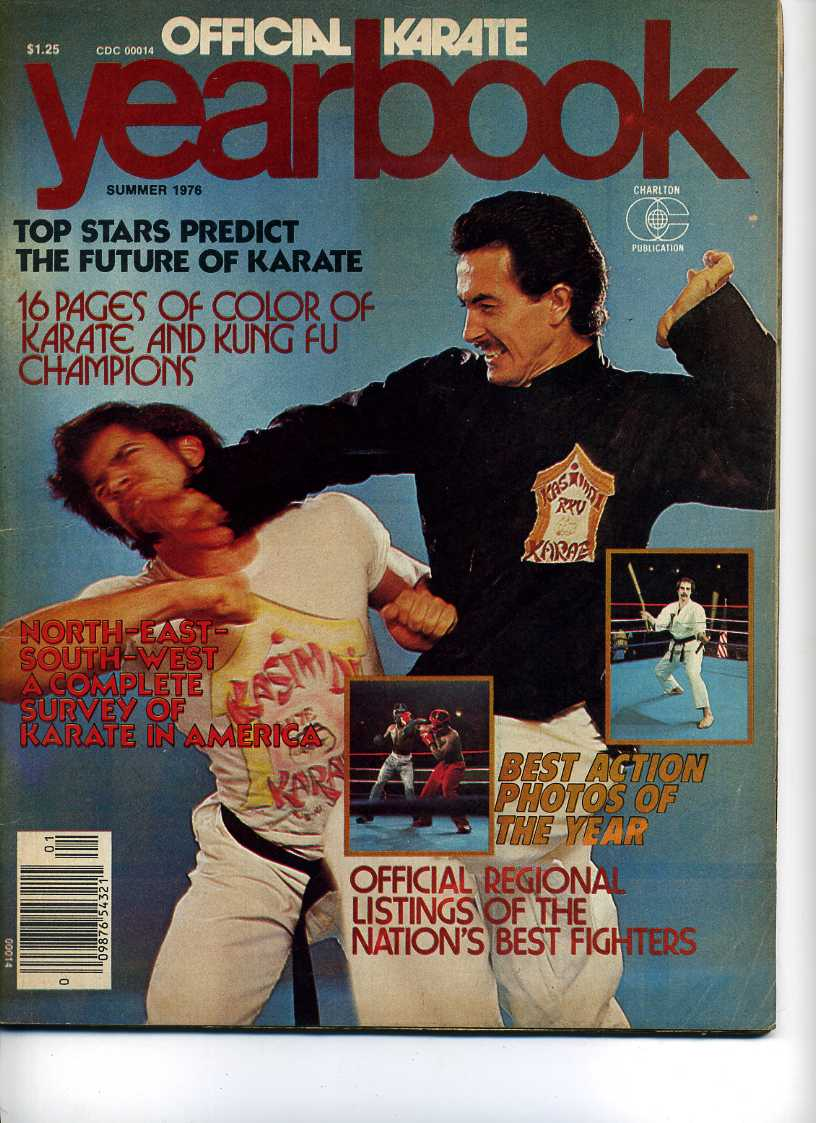 Summer 1976 Official Karate Yearbook