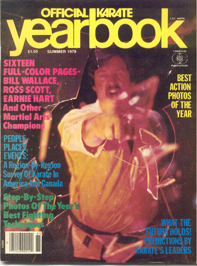 Summer 1978 Official Karate Yearbook