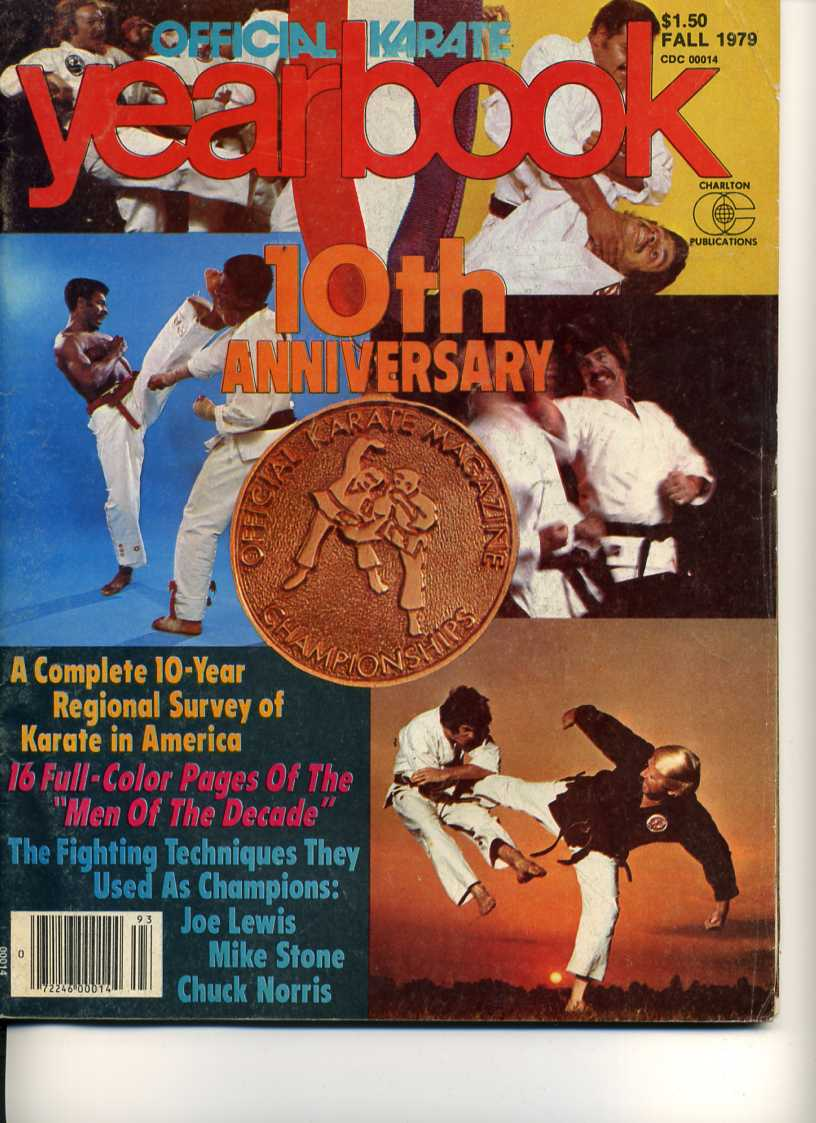 Fall 1979 Official Karate Yearbook