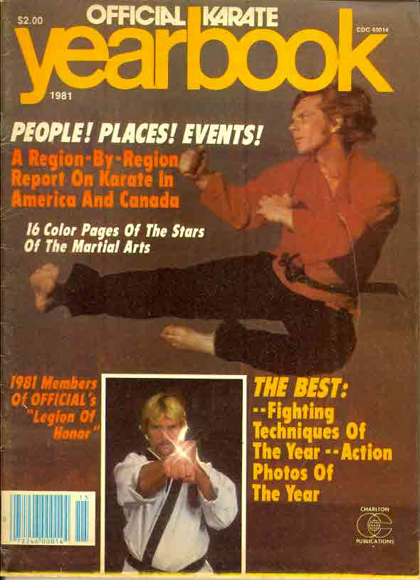 1981 Official Karate Yearbook